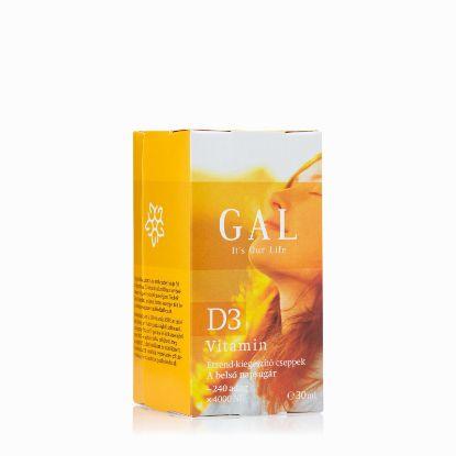 Kép GAL D3 Vitamin csepp